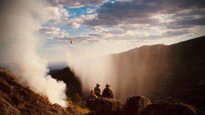 FUEGO | Continúa la lucha contra el incendio del Real de San Vicente