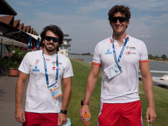 PIRAGÜISMO | Cubelos y Peña, listos para la Copa del Mundo de Szeged