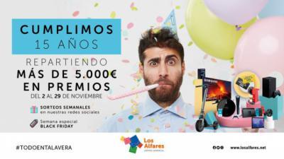 TALAVERA | Los Alfares reparte más de 5.000 euros en premios para celebrar su 15 aniversario