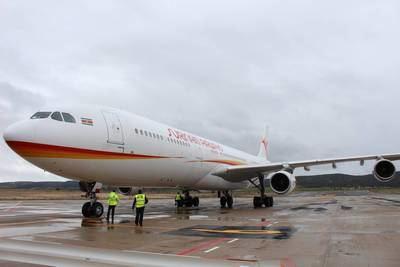 El Aeropuerto de Ciudad Real y la empresa JAS inician una nueva línea de negocio de reciclado de aviones