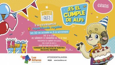 LOS ALFARES TALAVERA   Alfi celebra su cumple regalando peluches: te contamos cómo conseguirlos