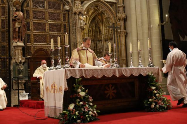 RELIGIÓN | El talaverano Marcos Luchoro se ordena como diácono