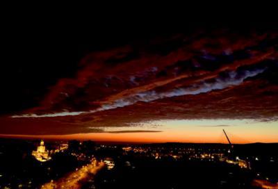 TALAVERA   El amanecer en la ciudad como no lo habías visto nunca