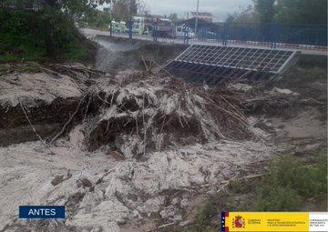 CEBOLLA | La CHT limpia el arroyo Sangüesa para evitar nuevas inundaciones