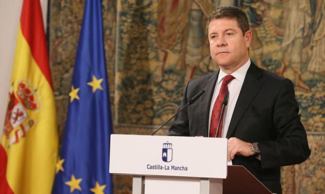 ACTUALIDAD | Page preside este miércoles la firma del Pacto por la Reconstrucción de CLM