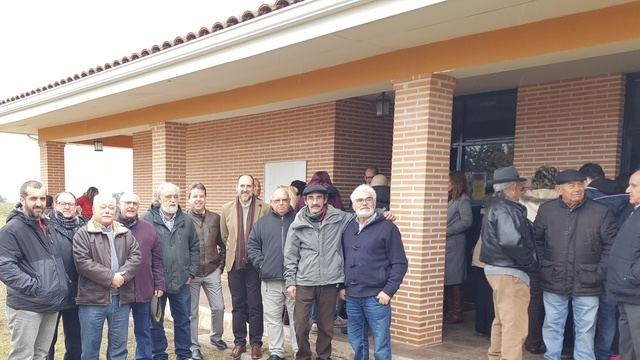 El delegado de la Junta en Talavera, David Gómez, ha realizado una visita a la localidad de Nuño Gómez