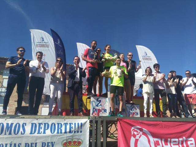 Unos 900 corredores han participado en la `XVI Carrera de La Ciruela´ de Olías del Rey