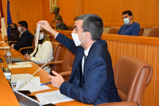TALAVERA | Hidalgo recuerda al PP que pasó de recaudar 11 millones a 30 con el IBI