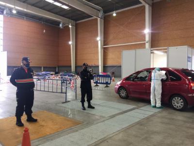 TALAVERA FERIAL | Siguen los test Covid... y 23 personas no se presentaron ayer
