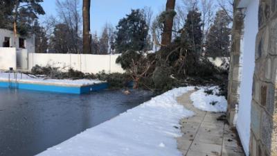 FILOMENA | El Ayuntamiento estima en 1,5 millones los daños en las instalaciones deportivas municipales