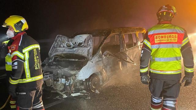 ACCIDENTE | Dos heridos tras chocar sus vehículos en la A-5
