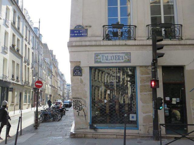 FOTOS | Talavera y cerámica... en una calle de París