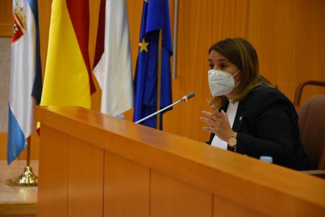 BASE LOGÍSTICA MILITAR | Tita García defiende el