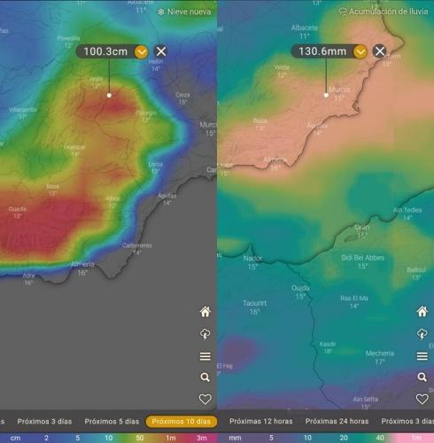 PUÑALADA AL TAJO   Trasvase para Murcia… con predicción de lluvia y nieve