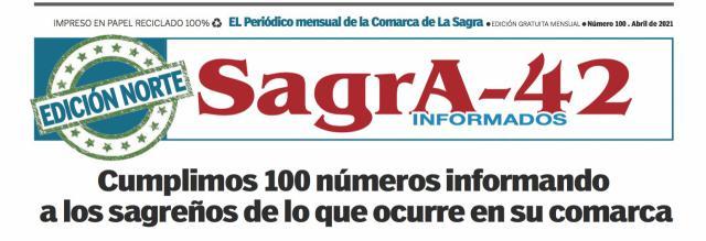 MEDIOS   Sagra-42 cumple 100 números informando y lo celebra con una edición especial