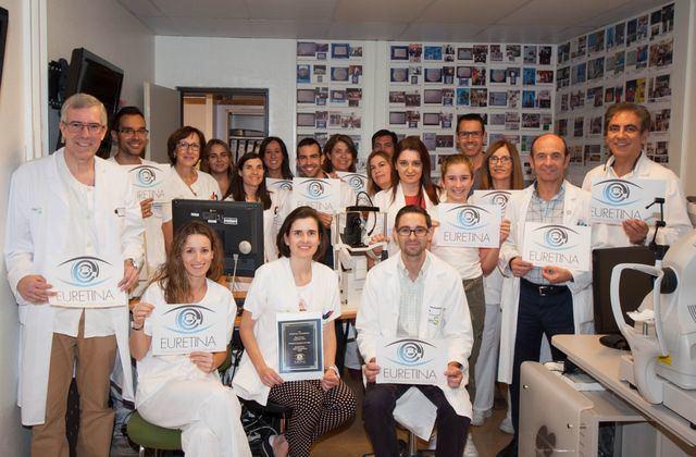 El Hospital Mancha Centro, galardonado por segundo año consecutivo en el Congreso de la Sociedad Europea de Especialistas de la Retina