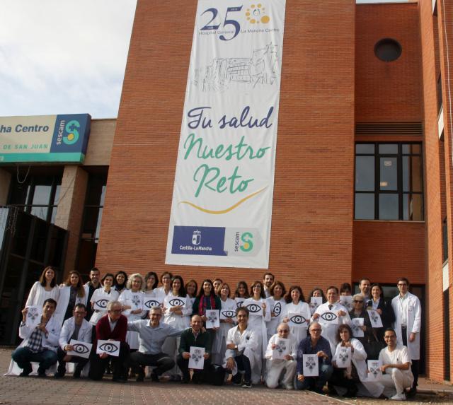 El Hospital Mancha Centro, premiado en dos congresos nacionales sobre medicina y enfermería oftalmológica