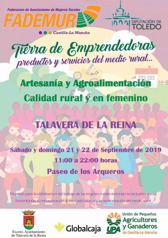 """""""Tierra de Emprendedoras"""", en el Paseo de los Arqueros de Talavera"""