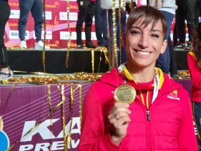 Sandra Sánchez logra el oro y se convierte, otra vez, en la mejor karateca del mundo