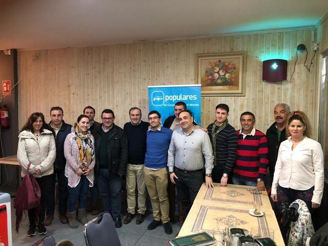 José Julián Gregorio se reúne con el PP de Casarrubios del Monte