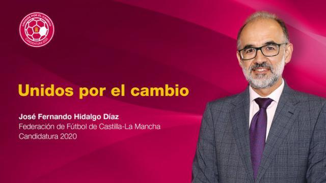 José Fernando Hidalgo quiere presidir la Federación de Fútbol de CLM