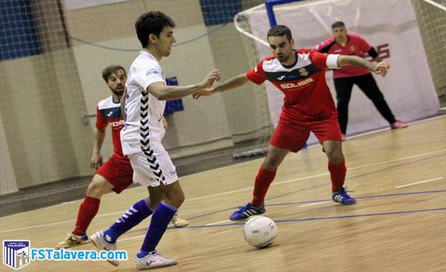 El Soliss FS ante el Palma este martes en la Copa del Rey