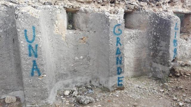 El Ayuntamiento Cuenca denunciará las pintadas en el Blocao de Mirabueno y estudiará cómo devolverlo a su estado original