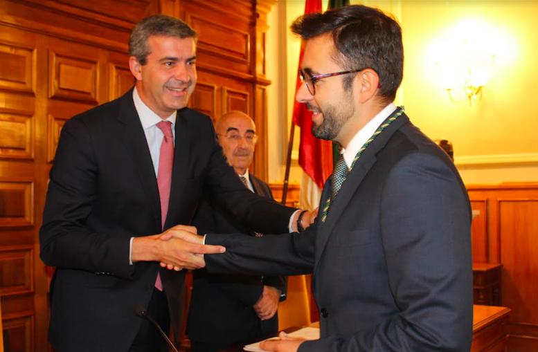 Luis Martín ha tomado posesión como Diputado Provincial de la formación naranja