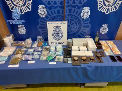COCAÍNA Y PELEA DE GALLOS   Desarticulan una organización criminal que operaba en Toledo