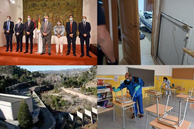 BUENOS DÍAS | A una semana del inicio de los colegios, se acaba el trasvase y siguen los contagios