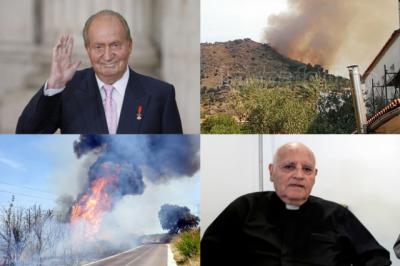 BUENOS DÍAS   Lunes de fuego con la noticia del año: don Juan Carlos se va. Comienza el martes bien informado con nosotros