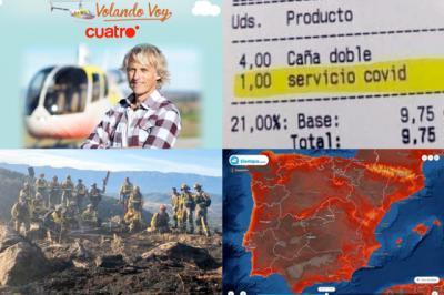 BUENOS DÍAS   Jesús Calleja enseñará la comarca talaverana en Cuatro, más calor y... ¿hay un pirómano suelto? A por el jueves bien informados