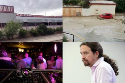 BUENOS DÍAS | El temporal (y fue menor del que se esperaba) provocó grandes destrozos, se halló un cadáver en Talavera y PODEMOS, imputado. Comienza el miércoles bien informado
