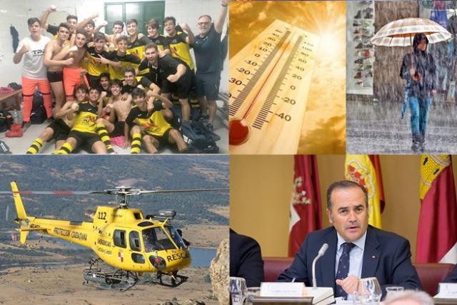 BUENOS DÍAS | Un equipo de fútbol confinado en Talavera por un positivo, último fin de semana del verano y más noticias de este viernes