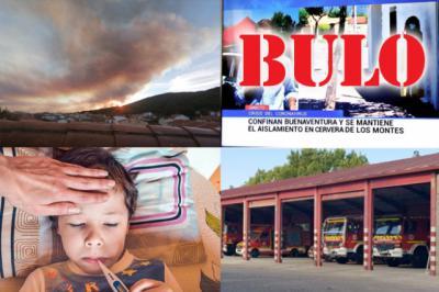 BUENOS DÍAS | Se nos acaba agosto y arde el Jerte, siguen los contagios y aparecen bulos. Comienza el fin de semana bien informado