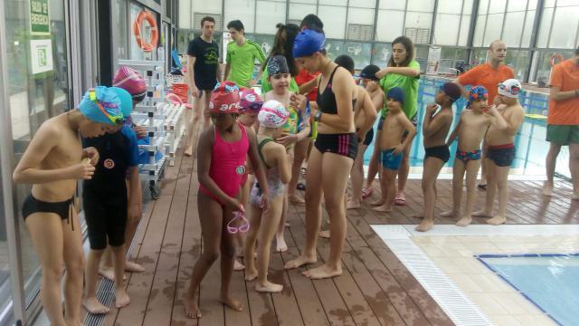 Las 'Miniolimpiadas Acuáticas' de ATANDI fomentan la inclusión