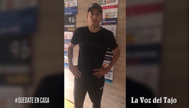 CORONAVIRUS | Fernando Alarza, así entrena un olímpico en casa (VIDEO)