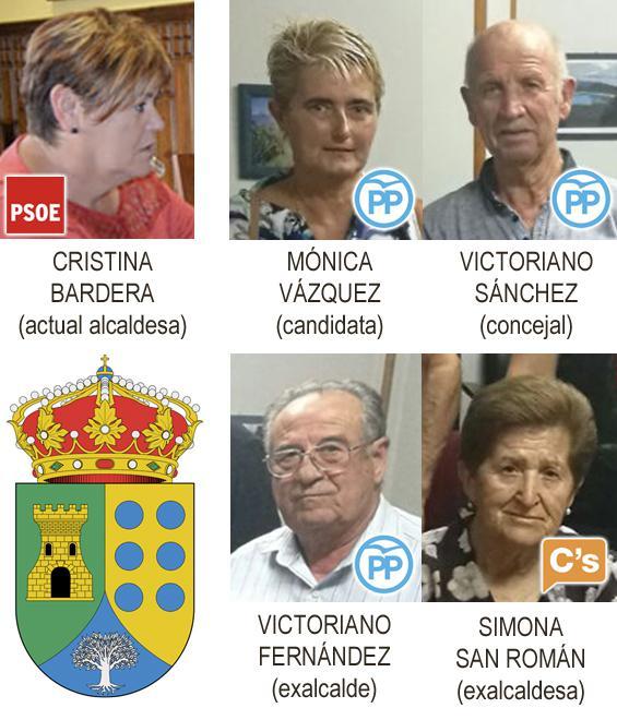 PP y Ciudadanos presentan una moción de censura contra la alcaldesa de Almendral de la Cañada