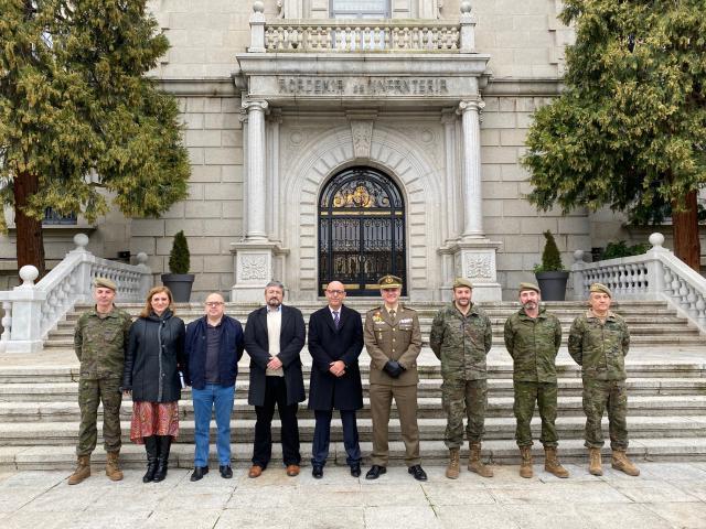 La Junta renueva con los ministerios de Educación y Defensa el convenio para impartir enseñanzas de FP en centros docentes militares de CLM