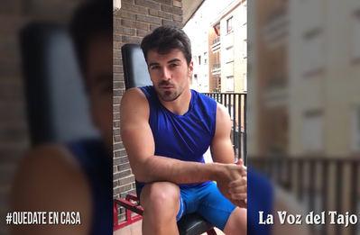 CORONAVIRUS | Los consejos de un olímpico talaverano, Paco Cubelos (VIDEO)