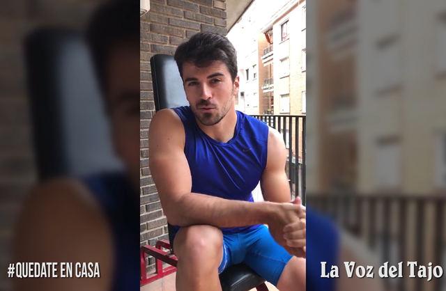 Francisco Cubelos, nuestro olímpico, nos da algunos consejos para pasar la cuarentena