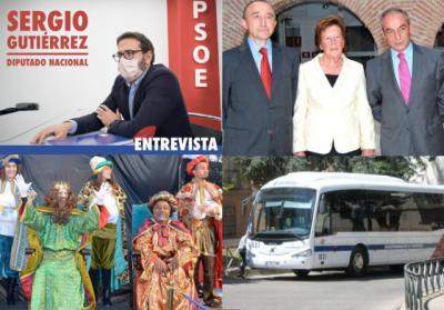BUENOS DÍAS | Sergio Gutiérrez (PSOE) habla claro, se nos fue Argimira González (ATAFES), talaveranos que triunfan fuera... las noticias del sábado