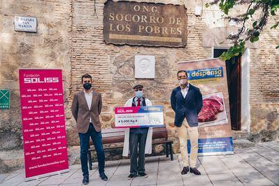 SOLIDARIDAD | Soliss y La Despensa donan 5.000 kilos de alimentos