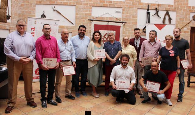 Foto de familia de los ganadorres.