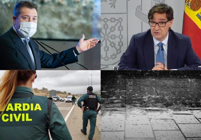 BUENOS DÍAS | CLM prolongará el cierre perimetral, Illa esperará 2 semanas para ver si confina, la lluvia será persistente y las noticias del jueves