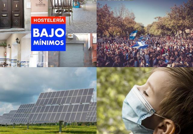 BUENOS DÍAS | El IVA de las mascarillas al 4%, plantas fotovoltaicas en Talavera, primer día sin bares... las noticias del miércoles