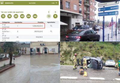 BUENOS DÍAS | Un millón de Bonoloto en Navalcán, varios sucesos en la provincia de Toledo, Cebolla vuelve a inundarse... las noticias del jueves