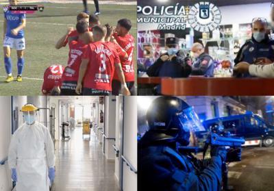 BUENOS DÍAS | Altercados en media España, aumentan los contagios y el fútbol y el kárate nos dan alegrías, la actualidad del domingo