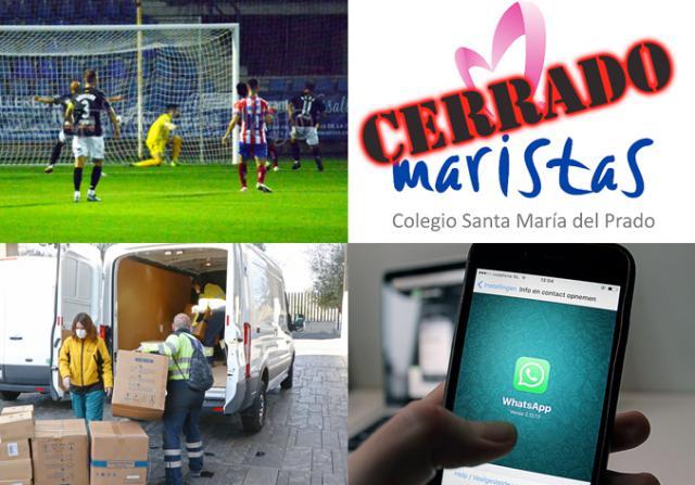 BUENOS DÍAS | Hoy cierra el colegio Maristas de Talavera por COVID, mala suerte blanquiazul, las noticias del domingo
