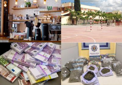 BUENOS DÍAS | Pillado por alcoholemia y con 26 kilos de marihuana, el colegio Maristas sigue cerrado por COVID, cierra el interior de la hostelería... las noticias del lunes